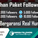 Jasa Followers Instagram Indonesia harga murah