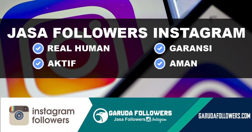 Jasa Jual Beli Followers Instagram Aktif