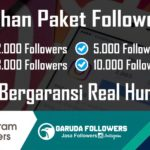 Jasa Tambah Follower Instagram Indonesia aktif