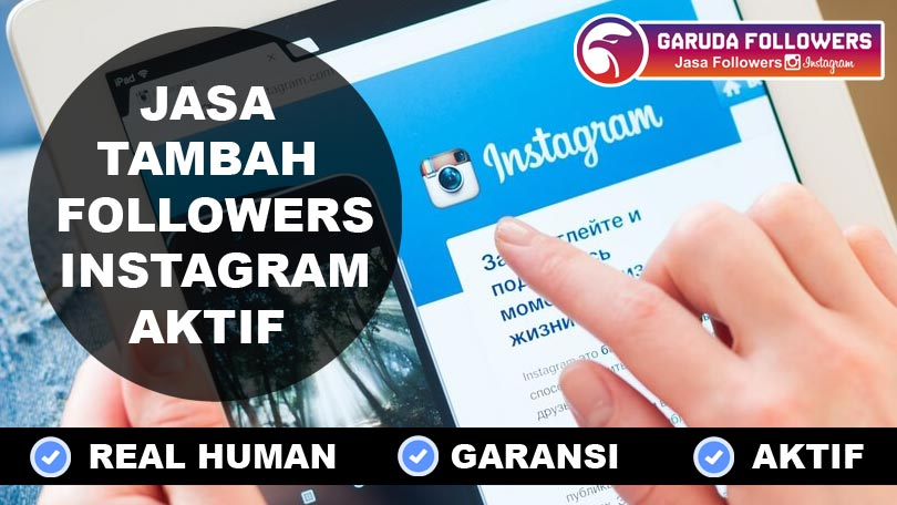 Jual Followers Instagram Real Human Indonesia murah