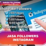 Jual followers aktif Instagram murah AKTIF
